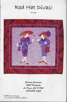 Patchwork Quilt Patterns, Quilting Patterns, Quilted Wall Hangings, Red Hats, Divas, Creations, Kids Rugs, Quilts, Kid Friendly Rugs
