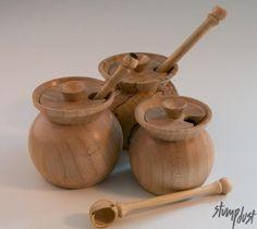 Salt or spice pot   Craftsy