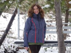 Video Contest grand prize winner Kimberly Nicoletti sports her new jacket from The North Face!