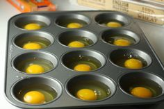 Perfect for when you have a large group to make breakfast for, just put it in the oven!