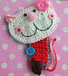 Gato a crochet