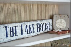 Painted Driftwood Signs