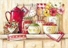 Vintage cocina