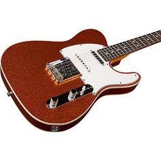 Fender Custom Shop Nashville American Telecaster Orange Sparkle ...