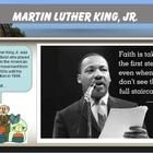 FREEBIE!! Students will reflect on the beautiful quotes of Martin Luther King Jr. with full-color photos of our valiant hero. This activity will he...
