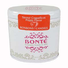 Bonte Pinson Exquisite Tiny Tins - Poppy Flower Candy - made in France
