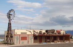 """"""" Outpost Saloon """" in Kingman Arizona   """" Route 66 on My Mind """" http://route66jp.info Route 66 blog ; http://2441.blog54.fc2.com https://www.facebook.com/groups/529713950495809/"""