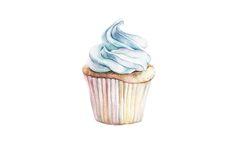 Cupcake Pattern by Katherine Dae, via Behance