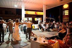 Wedding at gasstation