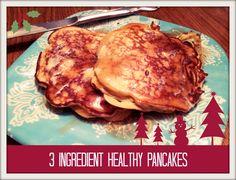 3 ingredient paleo pancake