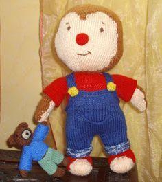 du tricot et des jouets: MODELE T'CHOUPI