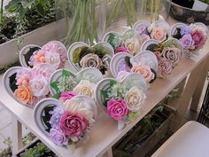 Preserved Flower of SARASTOUCH Flower Boxes, Diy Flowers, Moss Decor, Cold Porcelain Flowers, Wedding Reception Flowers, Preserved Roses, Colour Pallete, How To Preserve Flowers, Diy Hacks