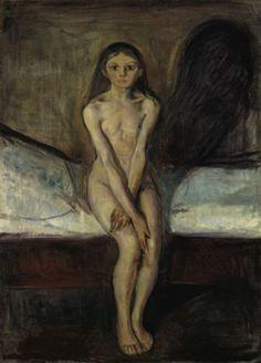 Pubertet (Pubertad), 1894-95. Edvard Munch