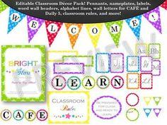 Classroom Decor Kit: Bright Stars #