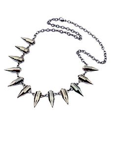 Punk Bullet Pendant Necklace
