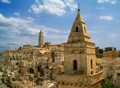 Panorama of Matera -- Matera (Italian pronunciation: [maˈteːra] or [maˈtɛːra]) is a city and a province in the region of Basilicata, in southern Italy