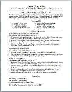 if you think your cna resume could use some tlc check out this sample resume for ideas on how you can demonstrate your nursing skills and dedication to