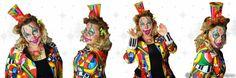 Kids facepaint clown Carnaval  Face Fantasy BodyArt