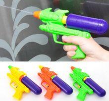 Nouveau 2015 couleur enfants été l'eau gicler jouet enfants plage pistolet à eau pistolet(China (Mainland))