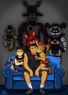 This is honestly my favorite Five Nights at Freddy's fanart I've ever seen! :3