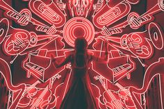 woman standing watching LED light musical instrument photo – Free Music Image on Unsplash Musik Wallpaper, Wallpaper Telephone, Wallpaper Art, Iphone Wallpaper, Red Pictures, Music Pictures, Music Images, Piano Pictures, Listening To Music