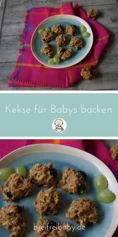 Kekse für Babys backen - Kekse ohne Zucker BLW Rezept für Fingerfood und Snacks zuckerfrei