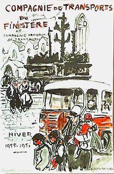 Yvonne Jean Haffen Arrêt de bus Plougastel Daoulas