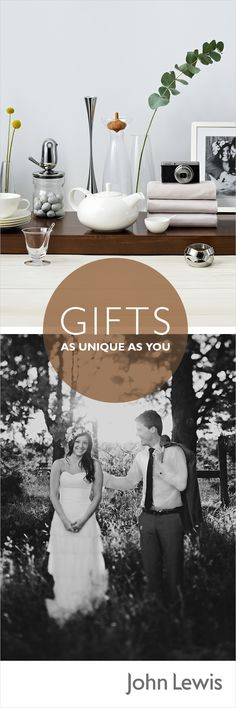 Whether you're celebrating a wedding or civil partnership, putting together a Gift List with John Lewis is easy and exciting. You can add honeymoon or charity contributions to your list and Gift Vouchers are always an option, plus with our free home delivery all your items will be collated and delivered at a time convenient to you. And with our Never Knowingly Undersold commitment, you can build your list with complete peace of mind.