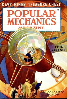 Popular Mechanics - Issues available on Google since 1900.