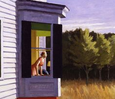 Cape Cod Morning by Edward Hopper 'We are all Edward Hopper paintings now': is he the artist of the coronavirus age? American Art, Art Painting, Fine Art, Edward Hopper Paintings, Caspar David Friedrich, Painting, A Level Art, Art, Edward