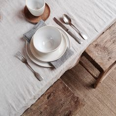 By Mölle table linens, photo by Marije Pasman | By Mölle