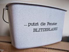 Personalized Bucket (Pic. 2/2) | Designed for aufdeineweise.de by Nadine Golumbek (2011) Lovely Things, Bucket, Scrapbook, Pure Products, Simple, Design, Beautiful Things, Nice Asses