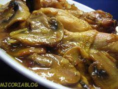Receta : Pollo en salsa rápida por Mjcoria