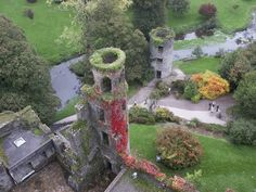 """Blarney, Ireland to the Blarney Castle and kiss the Blarney stone. """"If you can kiss that stone, the gift of eloquence will be conferred upon you."""""""