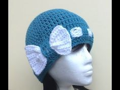 Bow - Licious Hat Crochet Tutorial