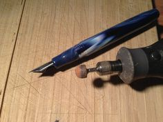 How to modify a Noodler's Ahab Flex fountain pen to increase flex