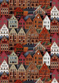 Bergen (beige) - By Matleena Issakainen
