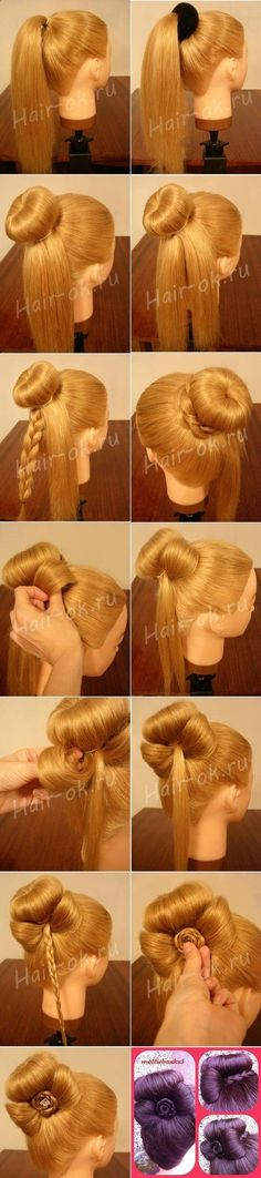 Elegant Bun Decorated Check out the website, some girl tried a new diet and tracked her results