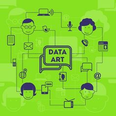 Art that tells. Yep! That's what we plan to do with data. Turn it into visually stunning infographics that you will be itching to put on your wall, whether virtual or real. We call it Data Art.