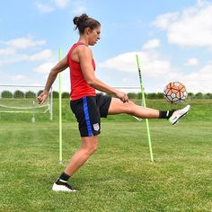 Another familiar face in Denver. also in camp continuing rehab. Carli Lloyd, Play Soccer, Her World, Under Pressure, Best Player, One Team, First Nations, World Cup, Make Me Smile