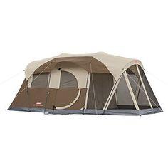 Coleman Weathermaster 6-Person Tent, 17' x 9'