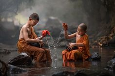 Photograph Novice Monk in Thailand by SIRISAK BOAKAEW on 500px