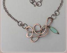 Znalezione obrazy dla zapytania beads and wire pendants