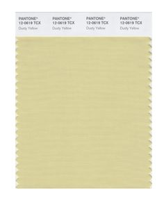 Pantone Smart Swatch 12-0619 Dusty Yellow