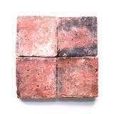 "antique terracotta provincial red 6""x6"""