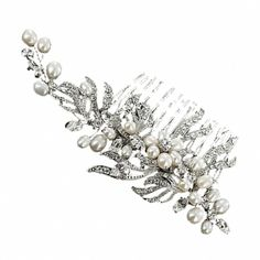 Euphoria Boutique 1940s Inspired Vintage Floral Hair Comb