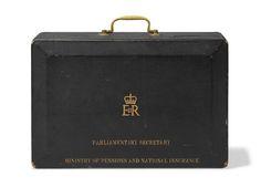 Mrs. Thatcher's parliamentary secretary's dispatch box. Christie's Jan 2016.