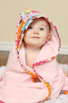 Clover & Violet — Free Patterns Scrappy Happy Hooded Towel for baby - Towel Sewing Patterns Free, Free Sewing, Baby Patterns, Sewing Tutorials, Free Pattern, Dress Patterns, Dress Tutorials, Coat Patterns, Sewing Ideas