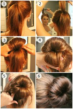 A different sock bun