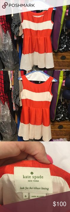 Dress- Kate Spade Brand new only worn once and only dry cleaned!! kate spade Dresses Strapless